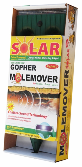 Solar Gopher MoleMover w/Chatter-Sound Technology - Click to enlarge