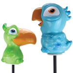 Solar Jungle Bird Stakes (Set of 2)