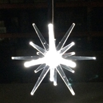 Solar LED Star - White Light