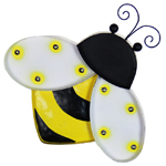 Solar Marquee Bumblebee Wall Decor
