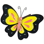 Solar Marquee Butterfly Wall Decor