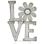 "Solar Marquee ""Love"" Yard Stake"