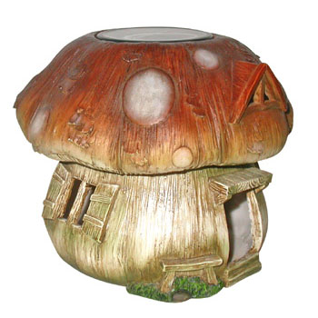 Solar Mushroom Toad House - Click to enlarge