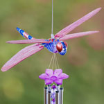 Solar Powered Dragonfly Wind Chime