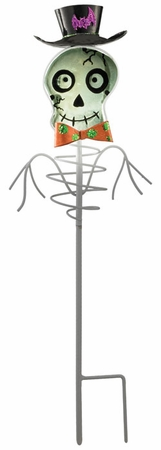 Solar Skeleton Garden Stake - Click to enlarge