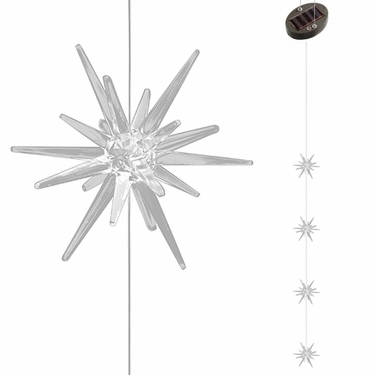 Solar Star Light Strand w/Color Changing LEDs - Click to enlarge