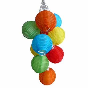 Solar String Lights - Mini Colorful Lanterns - Click to enlarge