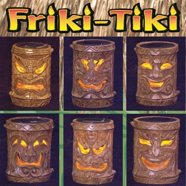 Solar Tiki Stakes - Asst. Classic (Set of 6) - Click to enlarge
