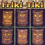 Solar Tiki Stakes - Asst. Classic (Set of 6)