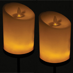 Solar Votive Candle Stakes (Set of 2)