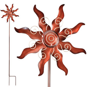 Spiral Sun Wind Spinner - Click to enlarge