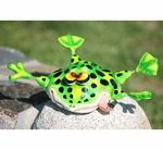 Splats Green Frog Tree/Wall Art