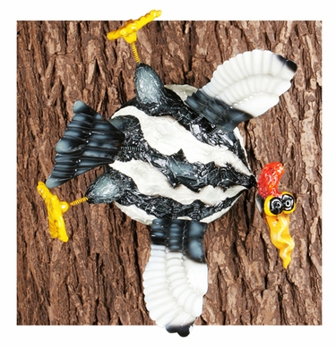 Splats Woodpecker Bird Tree/Wall Art - Click to enlarge