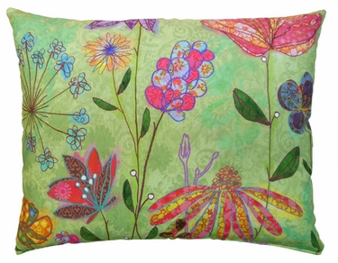 Spring Mix Outdoor Pillow - Click to enlarge