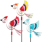 Springee Birds Garden Stakes (Set of 3)
