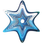 Star of David Wind Spinner