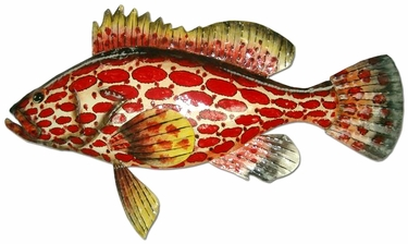 Strawberry Grouper Wall Decor - Click to enlarge