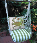 Summer Palms Crab in Marsh Hammock Chair Swing Set