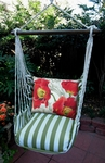 Summer Palms Poppies Hammock Chair Swing Set