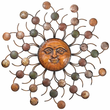 Sun Circles Wall Art - Click to enlarge