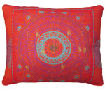 Sunburst Shield Outdoor Pillow