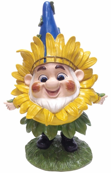 Sunflower Benny Gnome - Click to enlarge