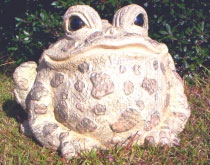 Super Duper Toad Statuary - Light Natural - Click to enlarge