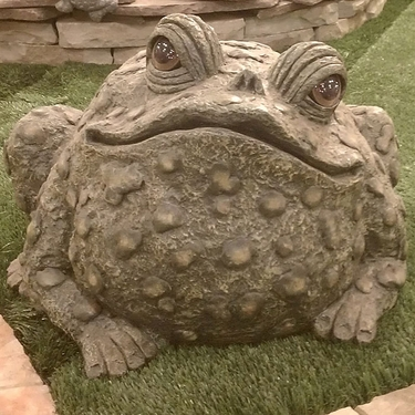 Super Duper Toad Statuary - Dark Natural - Click to enlarge