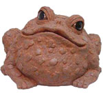 Super Jumbo Toad Statue - Coffee