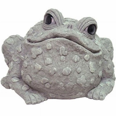 Super Jumbo Toad Statue - Gray - Click to enlarge
