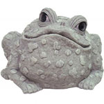 Super Jumbo Toad Statue - Gray