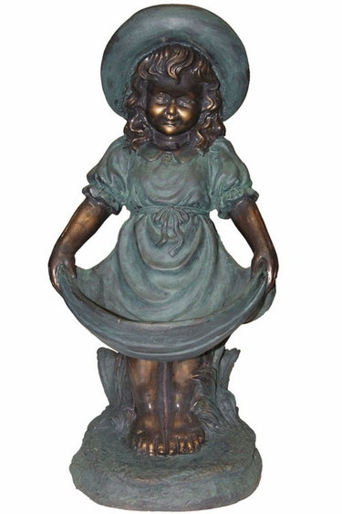 Sweet Girl Garden Statue - Click to enlarge