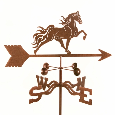Tennessee Walker Weathervane - Click to enlarge