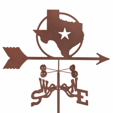 Texas Star Weathervane - Click to enlarge