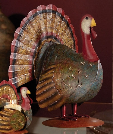 Thanksgiving Turkey Decor Lantern - Click to enlarge