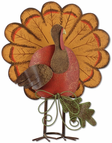 Thanksgiving Turkey Decor (Set of 2) - Click to enlarge