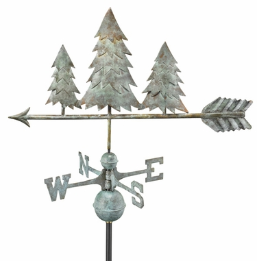 Three Pines Weathervane - Click to enlarge