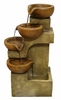 Tiered Clay Pots Fountain