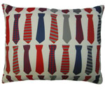 Ties 2 Outdoor Pillow
