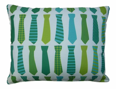 Ties Outdoor Pillow - Click to enlarge