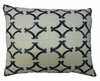 Tile Black 3 Outdoor Pillow