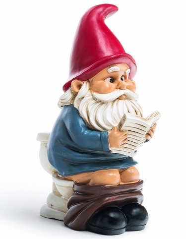 Toilet Gnome - Click to enlarge