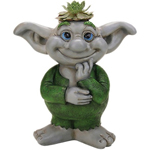 Troll Boy Mini Planter
