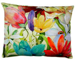 Tropical B Outdoor Pillow
