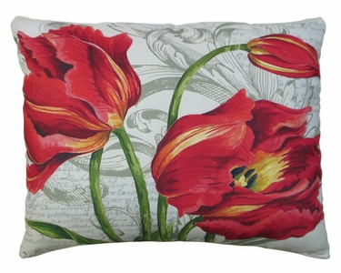 Tulips Outdoor Pillow - Click to enlarge