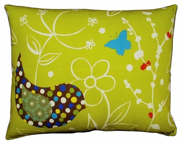 Twitter Bird Outdoor Pillow - Click to enlarge