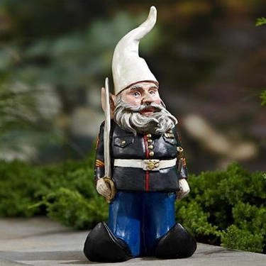 Military Gnome - Click to enlarge