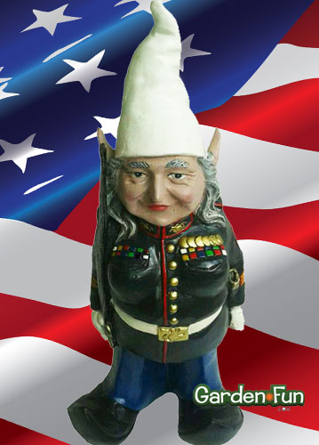Military Gnome - Female - Click to enlarge