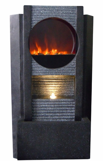 Ultra LED Fire & Water Fountain - Click to enlarge