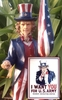 Uncle Sam Garden Statue